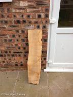 Plank - 1m x 16-21cm x 25mm