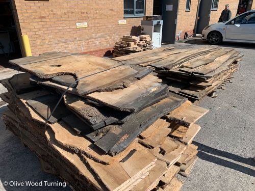 Plank - 1m x 16-21cm x 20mm